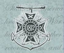 logo general society of the war of 1812