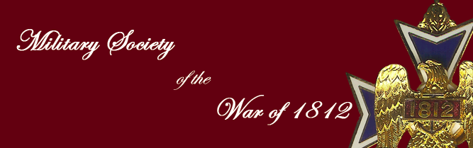 logo military society war of 1812