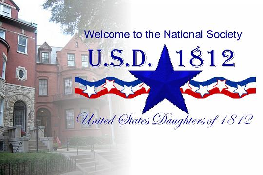 logo national society of the daughters of 1812